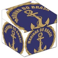 Seal Of Brazilian Navy  Storage Stool 12   by abbeyz71
