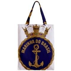 Seal Of Brazilian Navy  Zipper Classic Tote Bag by abbeyz71
