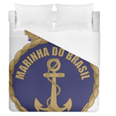 Seal Of Brazilian Navy  Duvet Cover (queen Size) by abbeyz71