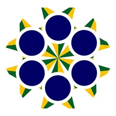 Roundel Of Brazilian Air Force Mini Folding Umbrellas by abbeyz71