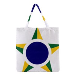 Roundel Of Brazilian Air Force Grocery Tote Bag by abbeyz71