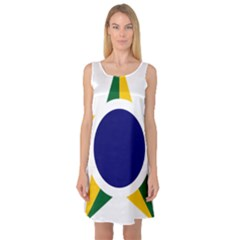 Roundel Of Brazilian Air Force Sleeveless Satin Nightdress by abbeyz71