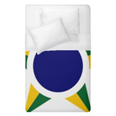 Roundel Of Brazilian Air Force Duvet Cover (single Size) by abbeyz71
