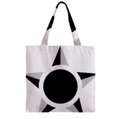 Roundel Of Brazilian Air Force (low Visibility) Zipper Grocery Tote Bag by abbeyz71