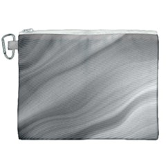 Wave Form Texture Background Canvas Cosmetic Bag (xxl) by Sapixe