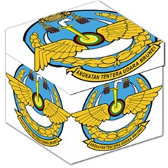 Emblem Of Royal Brunei Air Force Storage Stool 12   by abbeyz71