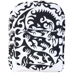 Ying Yang Tattoo Full Print Backpack by Sapixe