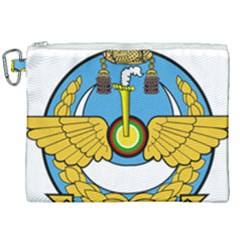 Emblem Of Royal Brunei Air Force Canvas Cosmetic Bag (xxl)