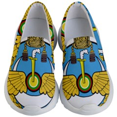 Emblem Of Royal Brunei Air Force Kid s Lightweight Slip Ons by abbeyz71
