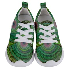Wire Woven Vector Graphic Kids  Lightweight Sports Shoes