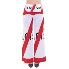 No Racism So Vintage Palazzo Pants by demongstore