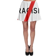 2000px No Racism Svg Skater Skirt by demongstore