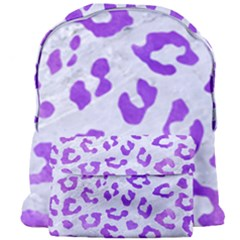 Skin5 White Marble & Purple Watercolor Giant Full Print Backpack