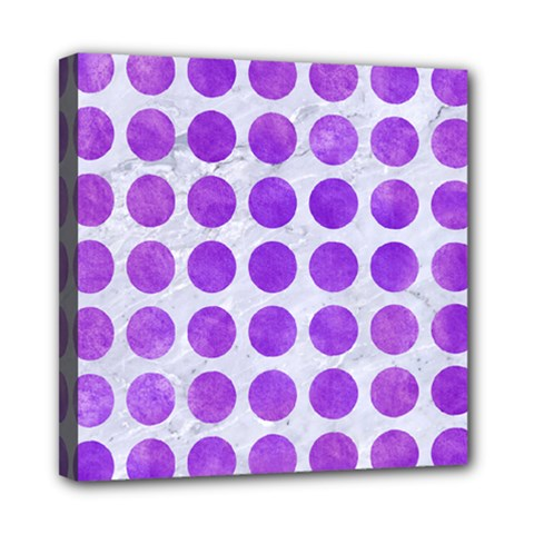 Circles1 White Marble & Purple Watercolor (r) Multi Function Bag	 by trendistuff