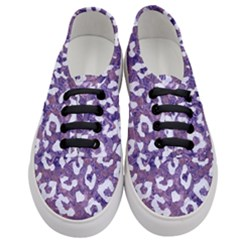 Skin5 White Marble & Purple Marble (r) Women s Classic Low Top Sneakers