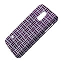 WOVEN1 WHITE MARBLE & PURPLE LEATHER (R) Galaxy S5 Mini View4