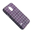 WOVEN1 WHITE MARBLE & PURPLE LEATHER (R) Galaxy S5 Mini View5