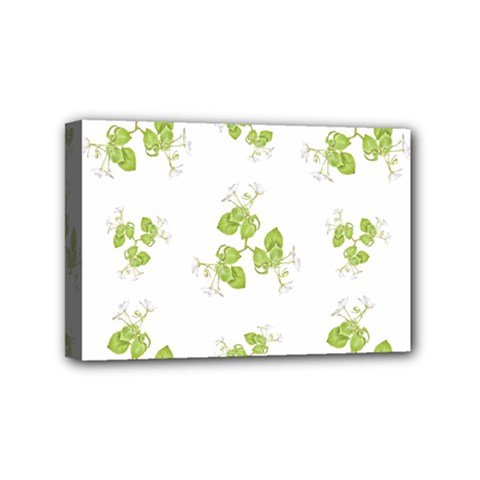 Photographic Floral Decorative Pattern Mini Canvas 6  X 4  by dflcprints