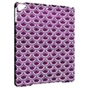 SCALES2 WHITE MARBLE & PURPLE LEATHER Apple iPad Pro 9.7   Hardshell Case View2