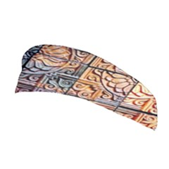 Wooden Blocks Detail Stretchable Headband by Sapixe