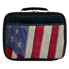 Usa Flag Lunch Bag by Sapixe