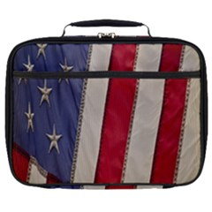 Usa Flag Full Print Lunch Bag by Sapixe