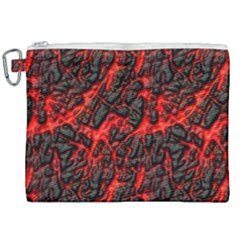Volcanic Textures Canvas Cosmetic Bag (xxl)