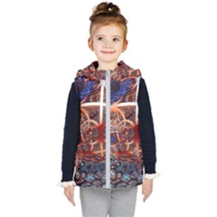 Complexity Chaos Structure Kid s Hooded Puffer Vest