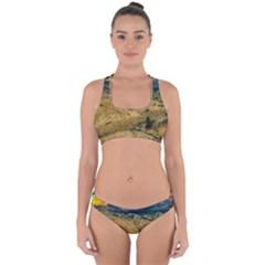 Hills Countryside Landscape Nature Cross Back Hipster Bikini Set