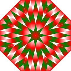 Christmas Geometric Background Straight Umbrellas