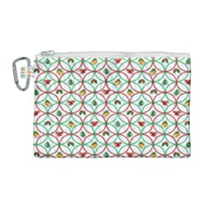Christmas Decorations Background Canvas Cosmetic Bag (large)