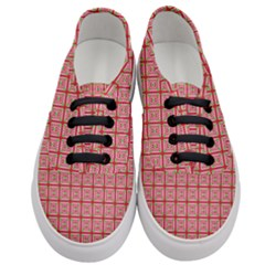 Christmas Paper Wrapping Paper Women s Classic Low Top Sneakers