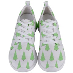 Background Christmas Christmas Tree Men s Lightweight Sports Shoes
