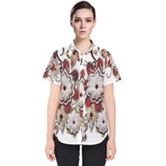 Gems Gemstones Jewelry Jewel Women s Short Sleeve Shirt