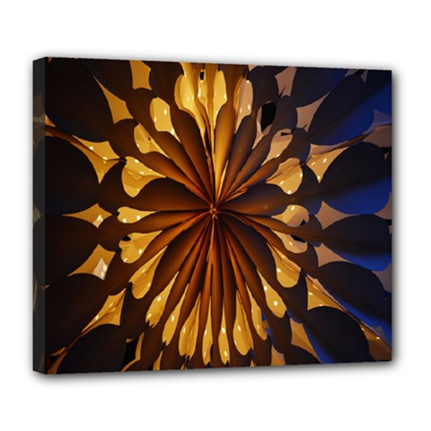 Light Star Lighting Lamp Deluxe Canvas 24  X 20   by Sapixe