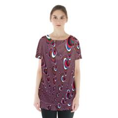 Mandelbrot Fractal Mathematics Art Skirt Hem Sports Top
