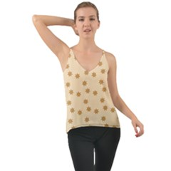 Pattern Gingerbread Star Cami