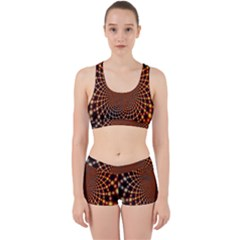 Pattern Texture Star Rings Work It Out Gym Set