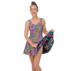 Flower Paisley 1 Inside Out Dress