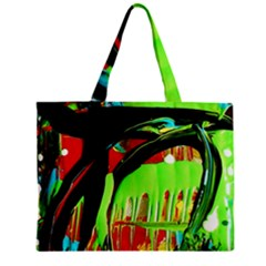 Quiet Place Zipper Mini Tote Bag by bestdesignintheworld
