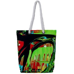 Quiet Place Full Print Rope Handle Tote (small) by bestdesignintheworld