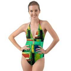 Marakesh 5 Halter Cut Out One Piece Swimsuit