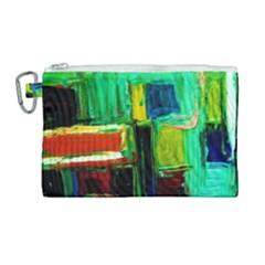 Marakesh 5 Canvas Cosmetic Bag (large)