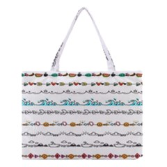 Decoration Element Style Pattern Medium Tote Bag by Sapixe