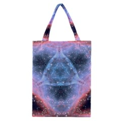 Sacred Geometry Mandelbrot Fractal Classic Tote Bag by Sapixe
