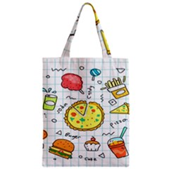 Colorful Doodle Soda Cartoon Set Classic Tote Bag by Sapixe