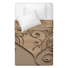 Wood Sculpt Carved Background Duvet Cover Double Side (single Size) by Sapixe