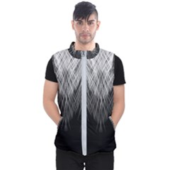 Feather Graphic Design Background Men s Puffer Vest