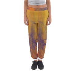 Fiesta Colorful Background Women s Jogger Sweatpants by Sapixe