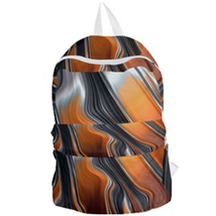 Fractal Structure Mathematics Foldable Lightweight Backpack